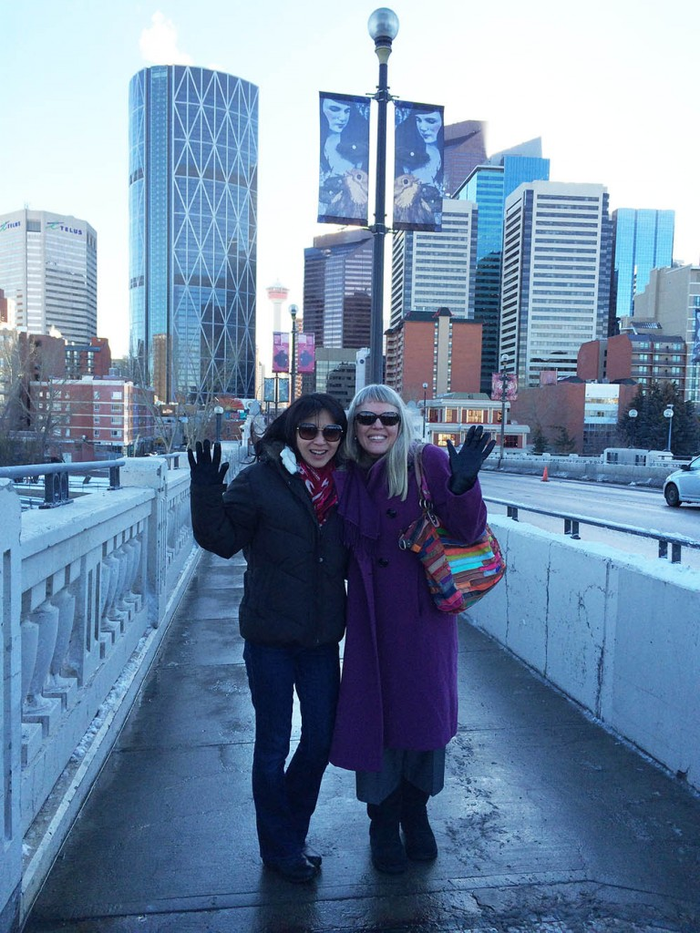 Suzanne and Madeleine in Calgary 2016